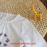 Camiseta popular del bordado/de la impresión para la muchacha