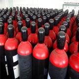 40L de industriële Gebruikte Naadloze Grootte van de Gasfles van het Staal