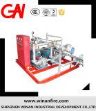 Sistema de bomba de la espuma/patín diesel de la espuma del fuego para proporciónar
