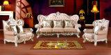 Sofá clásico de los muebles del cuero casero de la sala de estar (UL-NSC089)