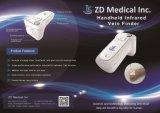 高品質の手持ち型の携帯用赤外線静脈のファインダー