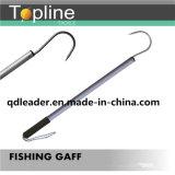 Gancho de Gaff da pesca com tamanho do punho de 25X1mm
