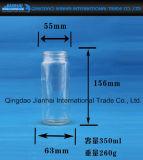 Bouteille en verre claire classique de boisson (JH-1281)