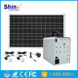 Portable fuori dalla griglia 10W al sistema di energia solare dell'invertitore 100W