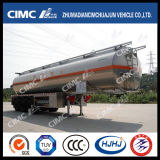 Cimc carburante-aceite de la aleación de aluminio de Huajun 3axle/petrolero de la gasolina/Diesel/LPG