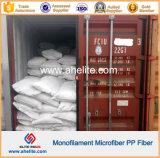 Fibra do Polypropylene dos PP do monofilamento de Microfiber