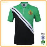 Chemise de polo faite sur commande de logo de broderie de coton de s d'homme '