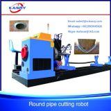 Машина резца плазмы трубы CNC нержавеющей стали используемая для стальной индустрии Kr-Xy5 ферменной конструкции