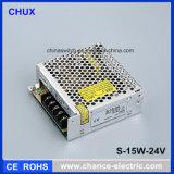 24V Ein-Output-SMPS Schaltungs-Modus-Stromversorgung 15W (S-15W-24)