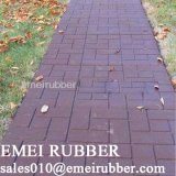 Farben-Ziegelstein-Oberflächen-Gummifliese für Garten mit En1177