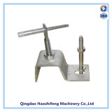 China 304 Stainless Steel Welding Wall Suporte em forma de L