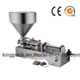 Singola imbottigliatrice semiautomatica dell'ugello per crema/unguento/l'inserimento