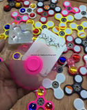 Kreativer Handspinner/Unruhe-Spinner mit künstlichen Rhinestones