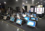 84 дюйма рекламируя киоск монитора сенсорного экрана цифровой индикации панели LCD установленный стеной