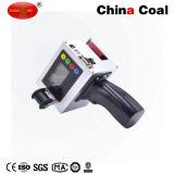 Impresora de inyección de tinta industrial del codificador de la fecha en la madera, metal, plástico, codificación del cartón
