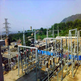 500kv Door Shapped Steel Tube Power Transmission Substation Structure