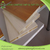 Veneer y Melamine naturales Paper Face Block Board From Linyi