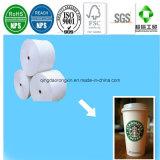 Papel revestido del PE para la taza de consumición del café de hielo de Starbucks