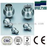 Bola fija sanitaria de la limpieza del acero inoxidable (IFEC-CB100001)
