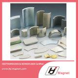 Super starke permanente Segment-MotorNdFeB Magneten des Cs-N35