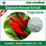 Poudre CAS 404-86-4 de capsaïcine d'extrait de poivron