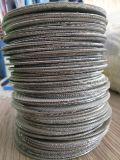 24/110mesh 0.35/0.25mm 304 316ステンレス鋼の編まれた網の押出機スクリーン