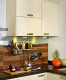 Cozinha lustrosa elevada Cabient da laca para a mobília da cozinha (zz-050)