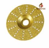 Красивейшим абразивный диск диаманта типа паяемый вакуумом