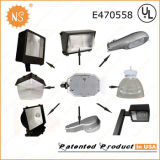 최신 디자인 금속 할로겐 고압 나트륨 보충 구두 상자 정착물 120W LED 개장 장비
