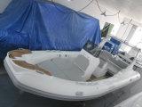 Opblaasbare Boot van de Rib van China van de Motor van Panga van de Glasvezel van Liya 22FT de Kleine (HYP660)