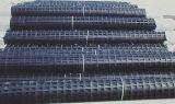 HDPE Geogrid uniaxial, Geogrid plástico de los PP/para el refuerzo