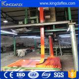 Protezione resistente a temperatura elevata del manicotto del fuoco della vetroresina del silicone