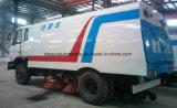 Dongfeng 6 roues balayant le camion de balayeuse de route de HP de la machine 150