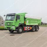 탄광을%s Sinotruk HOWO 6X4 디퍼 또는 쓰레기꾼 트럭