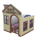 De kinderen spelen Huis (qq14251-1)