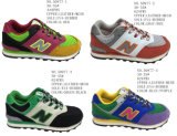 Numéro 50977 chaussures pulsantes de chaussures du sport du gosse sept couleurs