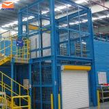 Levage de cargaison d'entrepôt et prix hydrauliques verticaux de levage de marchandises