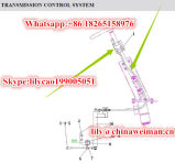 La caja de engranajes de Sdlg LG936 LG938 parte el mecanismo de control de la velocidad del eje LG06-Bscz-936 4190000871/del cable de la transmisión 4110000659