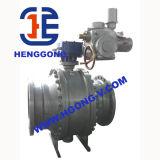 API/DIN Actuator de Pneumatische Kogelklep van de Tap van het Roestvrij staal