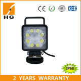 diodo emissor de luz Work Light de Approved Square 27W do CE 4.6inch para Offroad