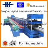 Guardrail de perfuração e de corte hidráulico que faz a máquina