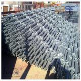 Construction Scarffolding avec l'échafaudage en acier de Ringlock galvanisé par planche