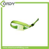 RFID один браслет ткани идентификации NFC wristband удостоверения личности времени устранимый