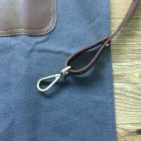 Venda por atacado encerada alta qualidade do avental do couro do carpinteiro da lona