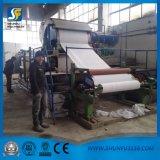 Nuevo papel usado que recicla la cadena de producción de máquina del rodillo del papel higiénico del tejido