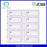 125kHz/13.56MHz Proximity Smart ID Card Inlay Sheet