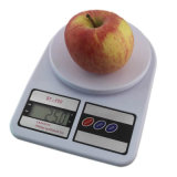 무게 가늠자가 음식 가늠자에 의하여 10kg x 1g 전자 균형 부엌 오른다