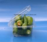 L'OEM impaccante di verdure di plastica a gettare del contenitore accetta