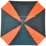 Guarda-chuva reto automático da forma do quadrado da fibra de vidro com frame/reforços da fibra de vidro