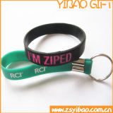 PVC llavero, llavero de silicona para regalos de promoción (YB-PK-11)
